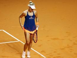 Kerber raus - Sharapova und Siegemund weiter