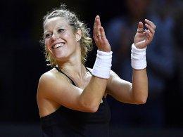 Siegemund folgt Sharapova ins Halbfinale