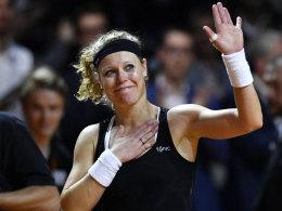 Siegemund steht im Finale - Sharapova scheitert