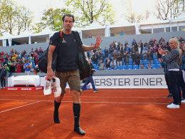 Struff verabschiedet Vorbild Haas - Zverev zieht weiter