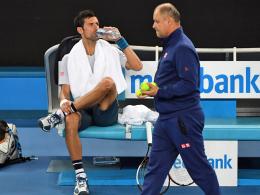 Djokovic trennt sich von Betreuerteam