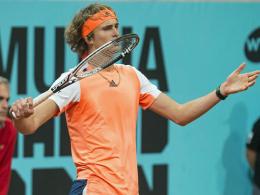 Zverev scheitert im Viertelfinale an Cuevas