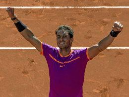 Finale in Madrid: Nadal setzt sich die Krone auf