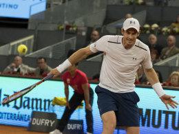 Murray scheitert an der Auftakthürde