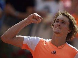 Zverev trifft im Finale von Rom auf Djokovic