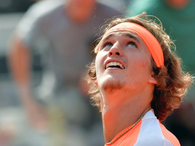 Zverev gewinnt sensationell das Rom-Finale