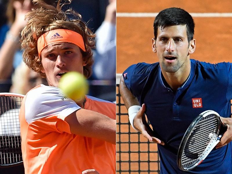 Zverev erreicht Finale bei Tennis-Turnier in Rom