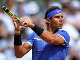 Nadal gibt nur ein Spiel ab! Djokovic mühsam