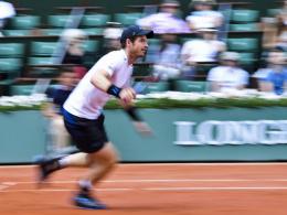 Wawrinka bleibt sauber - Murray schaltet Nishikori aus