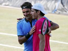 Überraschung! Haas bezwingt Federer in Stuttgart