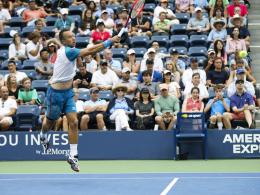Kohlschreiber verliert fünftes US-Open-Achtelfinale