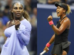 Klare Sache: Williams und Osaka im US-Open-Finale