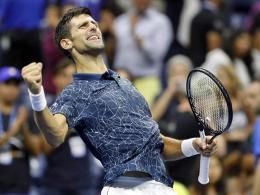 Ohne Satzverlust: Djokovic folgt Del Potro ins Finale