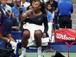 Schiedsrichter-Kritik: Serena Williams löst Sexismus-Debatte aus