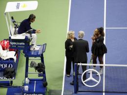 Nach Final-Eklat: 17.000-Dollar-Strafe für Serena Williams