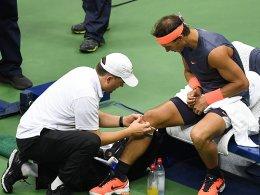 Nadal pausiert mit Knieproblemen