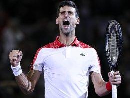 Djokovic jubelt auch in Shanghai