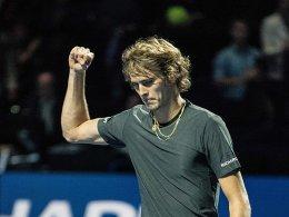Zverev im Halbfinale - Federer zieht mit Mühe nach