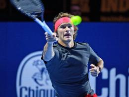 Zverev verpasst Baseler Finale - Federer mühelos