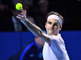 Neunter Streich für Federer in der Heimatstadt Basel