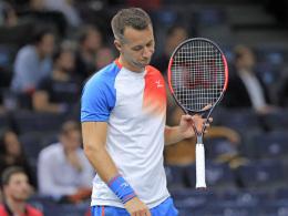 Djokovic in zwei - Kohlschreiber raus