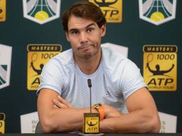 Nadal sagt Teilnahme an den ATP-Finals ab