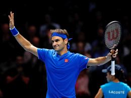 Perfekte Reaktion: Federer lässt Thiem keine Chance