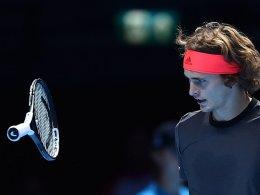 Halbfinale in Gefahr: Zverev unterliegt Djokovic