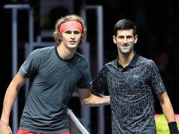 LIVE! Zverev vs. Djokovic zum Saisonfinale
