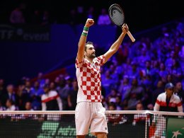 Cilic und Coric sorgen für 2:0-Führung Kroatiens