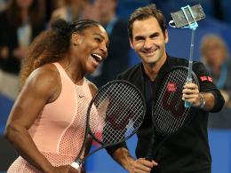 Federer erstmals gegen Williams: