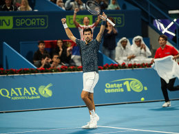 Djokovic in Katar: