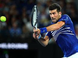 LIVE! Williams in der Nacht - Djokovic am Morgen