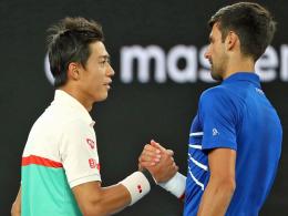 Gutes Omen? Djokovic zieht gegen Nishikori weiter