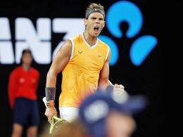 Nadal erster Herren-Finalist: Tsitsipas ohne Chance