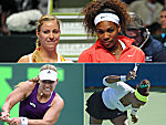 Angelique Kerber und Serena Williams