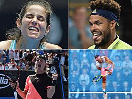 Grimassen, Jubelschreie und Nadal mal drei