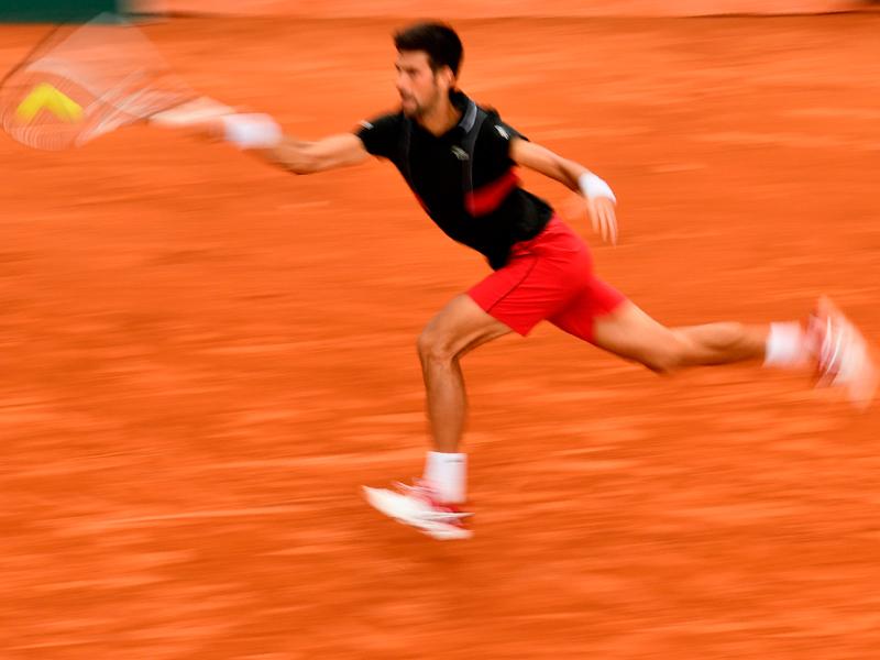 Djokovics Lauf - und Dzumhurs Auffahrunfall
