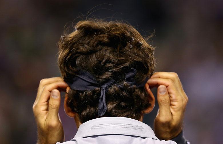 Tag acht bei den Australian Open - langsam geht es ans Eingemachte. Im letzten Match der Abendsession war Roger Federer dran und hatte überhaupt keine Mühe.