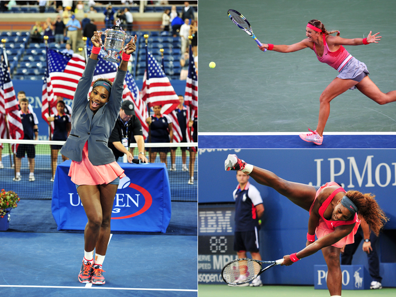 Am späten Sonntagabend stieg in New York das Damen-Finale. In Flushing Meadows standen sich Serena Williams und Victoria Azarenka gegenüber - es war das Duell zwischen der Nummer 1 und der Nummer 2 der Welt.