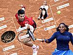 Djokovic, Bertens und Williams im Halbfinale