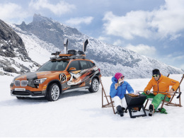 BMW K2 Powder Ride Concept