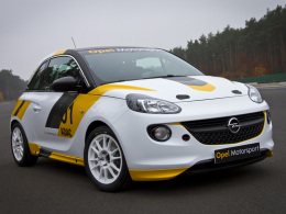 Opel Adam Rallyeversion