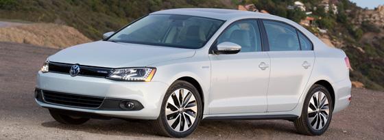 VW Jetta Hybrid Front