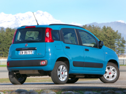 Fiat Panda Natural Power Heck