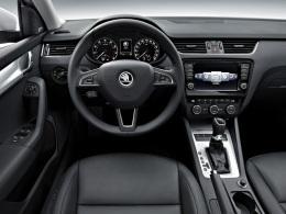 Skoda Octavia Cockpit