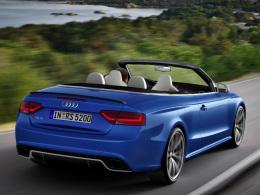 Audi RS 5 Cabriolet heck