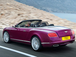 Bentey Continental GT Speed Convertible