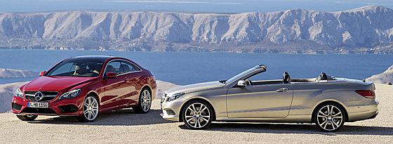 Mercedes E-Klasse Coupe, Cabriolet