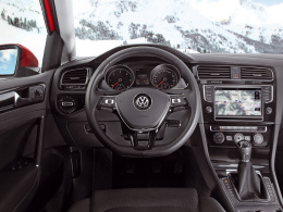 VW Golf 4Motion Innenraum